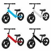 12 pouces enfants meilleur vélo d'équilibre réglable sans pédale pour enfants âgés de 1 à 7 ans vélo pour tout-petits avec roues solides antidérapantes & guidon rotatif à 360 °