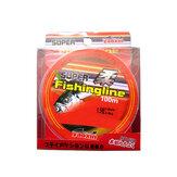 ZANLURE 100m nylon pesca linhas 0.8-6.0 linhas de pesca esportiva