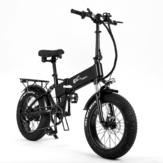 [AB DOĞRUDAN] CMACEWHEEL RX20 Teker 15Ah 48V 750W 20in Katlanır Elektrikli Bisiklet 45km / s Maksimum Hız Dağ E Bisiklet