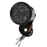 Universal Motorcycle LED Odometer Speedometer Speedo Tachometer Gauge