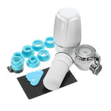 Tap Water Purifier Water Filter Faucet Washable Percolator Water Purification Rust Bacteria Removal