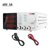 NICE-POWER 0-60V 0-5A Adjustable Programmable Lab Switching Power-Supply DC Regulated Power Supply Bench Digital Display Power Supplies 220V EU Plug