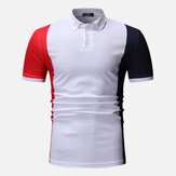 Golf Color Block Uomo Color Block Camicia