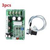 3pcs PWM DCモータ速度コントローラ12V / 24V / 36V 15Aコントローラ過負荷ストール過電流保護