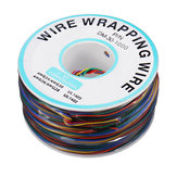 8 Colors OK Wire 30AWG Wrapping Wire Line Tin Plated Copper Flying Jumper Cable 280m