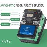 Máquina de emenda de fusão automática verde COMPTYCO A-81S Máquina de emenda de fusão de fibra óptica Máquina de emenda de fibra óptica
