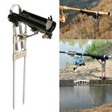 Aluminium Alloy Fishing Rod Holder with Automatic Tip-Up Hook Setter 3 Spring Fishing Stand