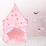 140x100cm Kids Play House Children Portable Princess Castle Kids Tents for Child Birthday Christmas Gift