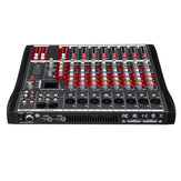 8 Channel bluetooth Mic Live Mixing Studio Audio Transmission Sound Mixer Console 48V Phantom
