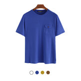 Men's Crewneck T-Shirt Comfortable Fitness Short Sleeve Breathable Summer Tees Hiking Camping Travel Holiday