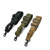 Outdoor Multifunctional Elastic Adjustable Tactical Belt Nylon Buckle Belt For Climbing