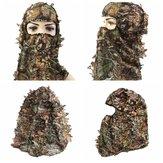 Caccia campeggio Escursionismo Ciclismo Tattico Camuffamento Militare Fan Cappelleria Set di Cappello Collare Faccia Ma