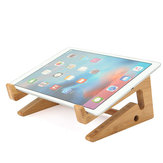 Mesa multifuncional de madeira destacável Stand Holder para Macbook Laptop Tablet Phone Keyboard