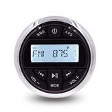 Marine Stereo Bluetooth Водонепроницаемы Радио FM AM Приемник Лодка Авто MP3-плеер Автозвук для яхт-гольфа Автоt UTV ATV SPA RV
