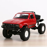 Bang buon WPL C14 1/16 2.4G 4WD Off Road RC Military Car Rock Crawler Truck con frontale LED RTR Giocattoli