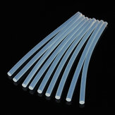 50pcs 7mm x 200mm EVA Clear Hot Melt Glue Sticks Adhesive Sticks