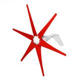 Пиковая мощность 800 Вт Бесшумный 6 Лопасти Ветряная турбина постоянного тока 12 В / 24 В Ветрогенератор высокой мощности Набор