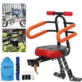 Electric Bicycle Child Baby Chair Bike Front Safety Release Saddle with Armrest Guard Bar Pedal MTB Bike Cycling Acccessories