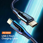 MCDODO CA-812 PD 100W USB-C to USB Type-C Cable 5A Fast Charging Type-C Charger Data Cable for Samsung Galaxy Note S20 ultra Huawei Mate40 OnePlus 8 Pro