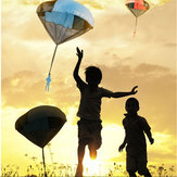 Kids Hand Throwing Parachute Kite Outdoor Play Game Toy