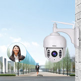 Sricam SH028 HD 2.0MP 1080P 5X Zoom Dome IP Camera P2P Wireless Surveillance CCTV Camera 360 Degree Wifi PTZ Outdoor Waterproof