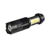 XANESSK68-COBXPE+COB1000 Lumens 4 Modos Zoomable Tactical EDC LED Lanterna