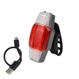 BIKIGHT Intelligent richtingaanwijzer Brake Bike Light USB oplaadbaar achterlicht COB LED
