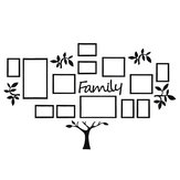 Acryli Photo Frame Family Tree Picture Collage Wall Art Hanging Sticker Home Decor