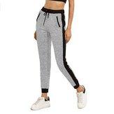 SUNNYMEdamskiespodnieJoggingdresyGym sportowe spodnie Yoga Waist Top Pocket