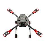 Feichao J630 630mm Passo 10-15 Pollici Kit telaio pieghevole in fibra di carbonio per RC Drone