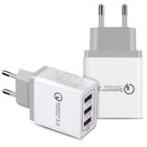 Bakeey 3 Ports Quick Charge 3.0 USB Charger Power Adapter for iPhone for Samsung