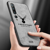 Bakeey Deer Classic Breathable Canvas Cloth Shockproof Protective Case for Xiaomi Mi10 Mi 10 Non-original