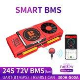 DALY BMS 24 S 72 V 300A 400A 500A 3.2 V lifepo4 400ah Batterij EV BMS Smart Board Bluetooth UART RS485 KAN met Ventilator
