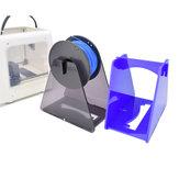 Easythreed® Suporte de filamento de impressora acrílico 3D / cinza / laranja suporte de montagem acrílico