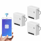 3pcs SONOFF Mini Two Way Smart Switch 10A AC100-240V Works with Amazon Alexa Google Home Assistant Nest Supports DIY Mode Allows to Flash the Firmware
