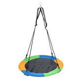 39-дюймовые круглые качели для детей, подвесное блюдце, гамак, максимальная нагрузка, 500 фунтов, кемпинг, путешествия, сад