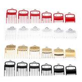 6Pcs Wall Universal Hair Clipper Accessories Limit Comb Electric Clipper Card Set Positioning Comb