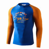 SABOLAY S-5148 Male Swimwear Long Sleeve Sun Protection Wetsuit Surf Clothing Beachwear