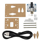Beyboard com uma cabeça Mecânico Clicker DIY Assembly Kit de tecnologia eletrônica DIY