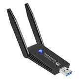 1300Mbps USB3.0 WiFi Adapter 802.11ac Dual Band  2* 5dBi Antenna Wireless Network Card WiFi Dongle Transmitter Receiver