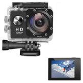 AUGIENB 2 дюйма 4K HD 1080P Экран Sport камера Под водой 30 м Action Видеорегистратор Видеокамера Водонепроницаемы Охота камера