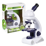 80X 200X 450X High-definition Microscope Magnification Kit Biological Science Educational Toys for Kids Gift