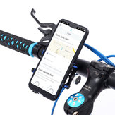 Aluminum Alloy Bike Motorcycle Handlebar Phone Holder For Smart Phone For iPhone for Samsung Huawei