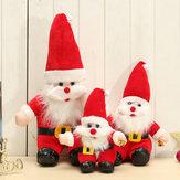 クリスマスサンタクロース人形贈り物プレゼントクリスマスツリー飾りつけの家の装飾