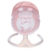SOKANO Baby Electric Rocking Chair Foldable Intelligent Sleeping Basket with Music for Newborn