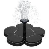 1.5W7.5VOutdoorRoseDesignGalleggiante solare Pompa acqua fontana alimentata per piscina Giardino Stagno acquario Garden irrigazione Super solare Pompa acqua fontana elettrica