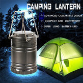 Batteriebetrieben LED Camping Light Tragbare Hängelaterne Outdoor-Wanderlampe