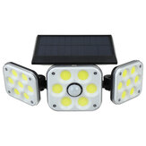 138 COB LED Solar Panel Street Light Outdoor PIR Motion Sensor Security Lamp