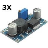 3 قطع تعديل XL6009 تسريع دفعة الجهد وحدة امدادات الطاقة محول منظم