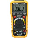 HYELEC PEAKMETER MS8236 Auto Range Digital Multimeter with AC/DC Amp Volt Resistance Capacitance Frequency Temperature Test and USB Data Logger